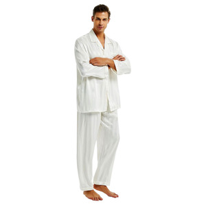 Image 3 - ผ้าไหมซาตินชุดนอนชุดนอนชุดนอน Loungewear S, M, L, XL, 2XL, 3XLL, 4XL