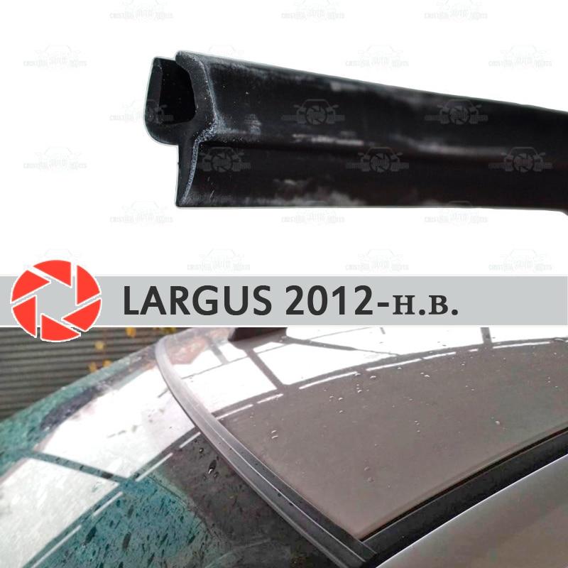 Windschutzscheibe deflektoren für Lada Largus 2012-2019 windschutzscheibe dichtung schutz aerodynamische regen auto styling abdeckung pad