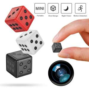 HD Mini Camcorder Voice-Recording-Device Small Camera Video Motion-Detection Night-Vision