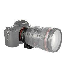 IV PARA EOS-NEX Adaptador Auto Focus Lens EF-NEX para Canon EOS EF EF-S lente para Sony E NEX Fotograma Completo A9 AII7 A7RII A7SII A6500