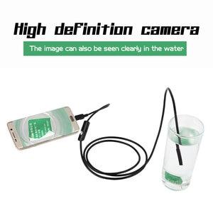 Image 4 - Mini 7mm Lens Mirco USB OTG Endoscoop Inspectie Camera 1 m/1.5 m/2 m/3.5 m/5 m Waterdichte Snake Pipe Android Borescope Camera