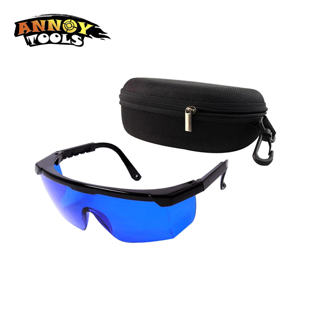Free Shopping ANNOYTOOLS New Safety Glasses Eye Protection Red Laser Safety Goggles Eye Spectacles Protive Eyewear Blue Color