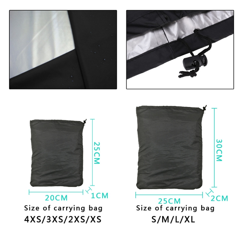 BBQ Grill Cover Outdoor Grill Rain UV Proof Canopy Dust Protector For Gas Charcoal Electric Barbecue Stove Barbeque Accessories 1