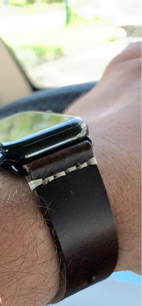 Pulseira do relógio pulseira petróleo vintage