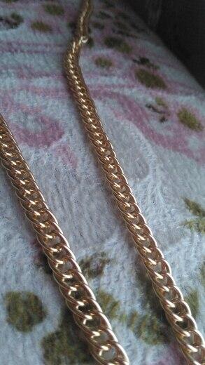 Hoge Kwaliteit 1PC Metalen Handtas Strap DIY Vervanging Schouder Handtas Riem Tas Onderdelen Accessoires photo review