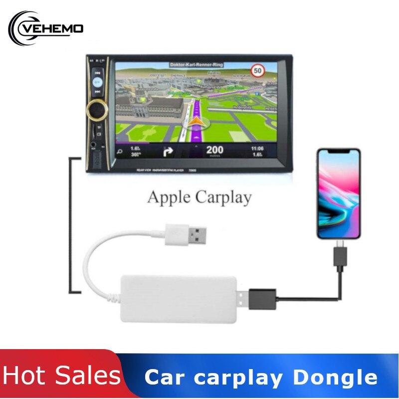 Kit de lien de voiture Dongle USB CarPlay adaptateur pour voitures Android Auto Smart MP5 lecteur unité de tête véhicule électronique jouer écran tactile