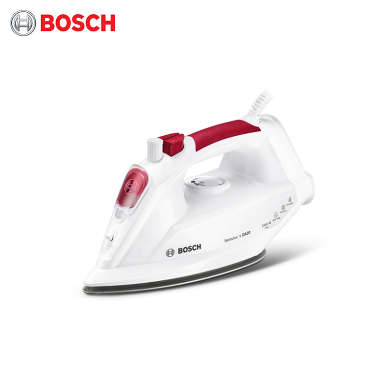 Electric iron Bosch TDA2024010 electriciron for ironing irons steam Household for Clothes Burst of Steam 2018 the newest argan oil steam hair straightener flat iron injection painting 450f straightening irons hair care styling tools