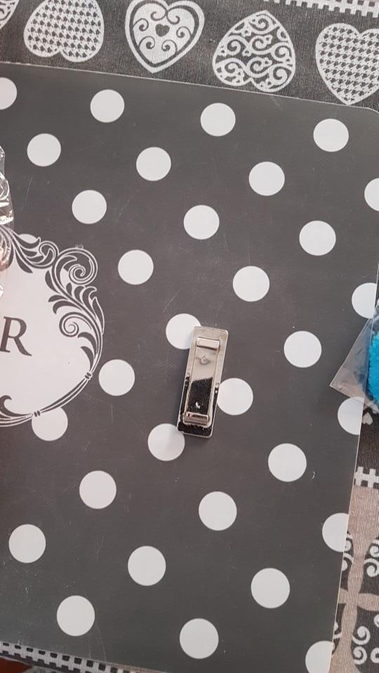 TANQU 1 stuk nieuwe witte gouden metalen ijzeren gesp bevestiging voor O zak verwisselbare accessoires voor Obag O Bag Flap photo review