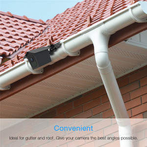Image 5 - for Arlo Pro 2/Arlo Pro Camera Outdoor Gutter Mount with Weatherproof Protective Case Surveillance Camera Mounting Brackets