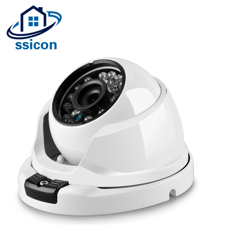 SSICON Infrared AHD Dome Surveillance 2MP Camera 3.6mm Lens Home Security Metal Vandalproof Night Vision 1080P CCTV CameraSSICON Infrared AHD Dome Surveillance 2MP Camera 3.6mm Lens Home Security Metal Vandalproof Night Vision 1080P CCTV Camera
