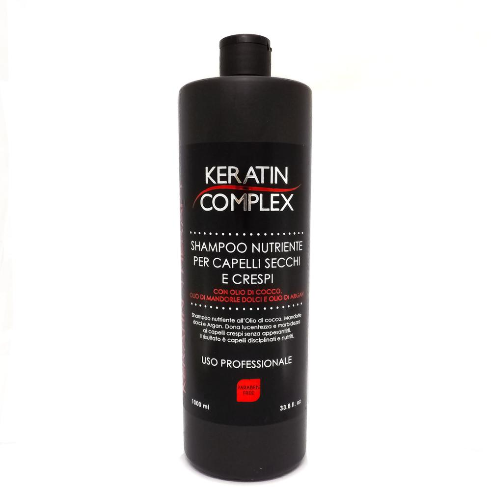 KERATIN COMPLEX DRY AND FRIZZY HAIR NOURISHING ARGAN OIL SHAMPOO 1000ML 0741 image