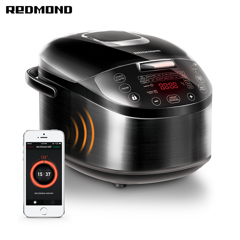 Multi Cooker REDMOND RMC-M800S multivarka multivarki cooker multicookings multicooker pressure cooker smart home