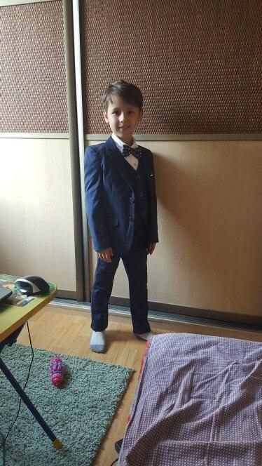 Trajes camisa gravata garoto