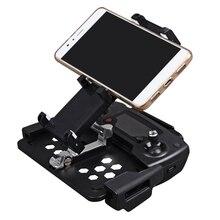 Suporte dobrável para celular e tablet, suporte de montagem clipe de alongamento para controle remoto dji mavic air/pro dji spark