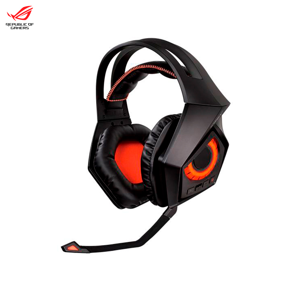 Earphones & Headphones ASUS Strix Wireless computer wireless headset gaming esports original xiberia v10 usb gaming headphones vibration led stereo around gaming headset headphone with microphone mic for pc gamer