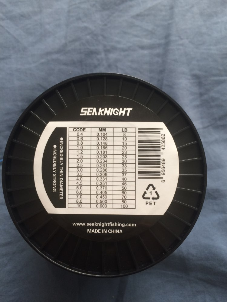 SeaKnight TriPoseidon Series 500M 546YDS PE Braided Fishing Line 4 Strands 8 10 20 30 40 60LB Strong Multifilament Fishing Line