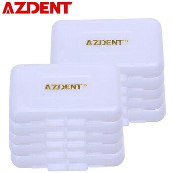 AZDENT 10 Box/Lot Orthodontics Ortho Wax Pirple-Grape Apple Orange Strawberry Mint Original 6 Flavor For Braces Gum Irritation