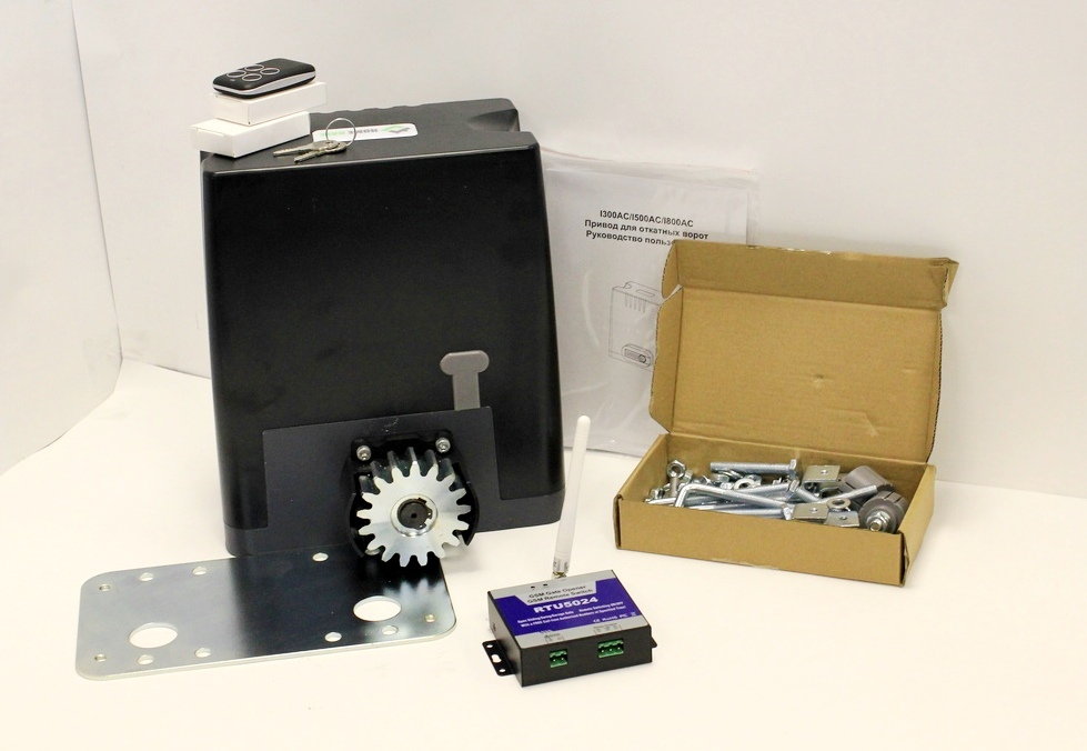 Drive kit DKC800 with mounting plate, GSM moduleDrive kit DKC800 with mounting plate, GSM module
