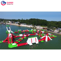 Inflatable water park aqua park, inflatable giant water games for adults, water park amusement park equipment for sale