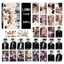 WANNA ONE Album LOMO Cards KPOP New Fashion Self Made Paper Photo Card HD Photo Card