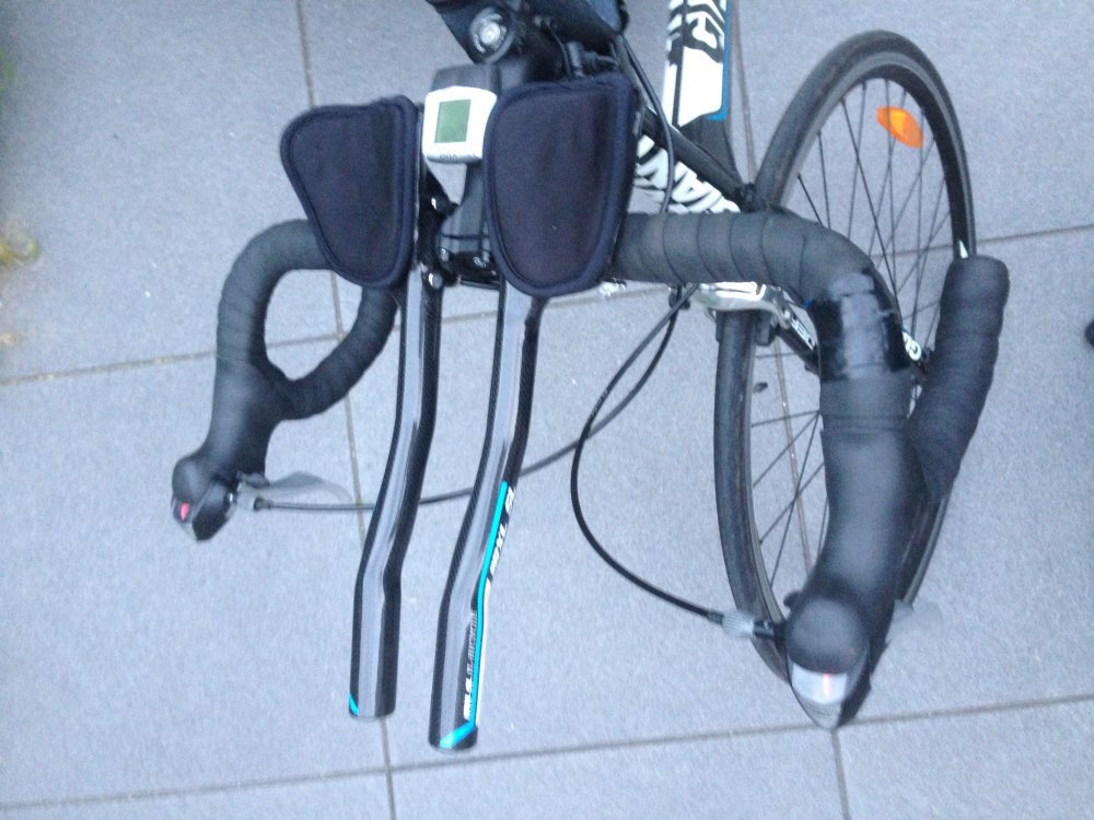 Wing Triatl/ón Manillar Bicicleta Aleaci/ón de Aluminio Brazo Manillar Extensor de Barra TT para Bicicleta de Carretera o Monta/ña Carrera de Ciclismo MTB Descansar