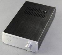 BZ1907A All Aluminum Amplifier Chassis LM3886 / LM1875 Power Amp Case DIY Audio Enclosure 194x70x311mm