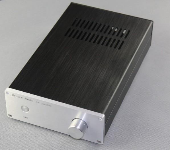 BZ1907A อลูมิเนียม Amplifier แชสซี LM3886/LM1875 Power Amp กรณี DIY เสียง Enclosure 194x70x311 มิลลิเมตร-ใน เครื่องขยายเสียง จาก อุปกรณ์อิเล็กทรอนิกส์ บน AliExpress - 11.11_สิบเอ็ด สิบเอ็ดวันคนโสด 1