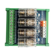 цена на 4-way relay module omron OMRON 10A multi-channel solid state relay plc amplifier board