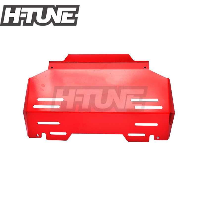 H-TUNE 4X4 Pickup 4 MM Penjaga Depan Mesin Bash Plate Cover Bawah Mobil Skid Plate untuk Hilux Revo 2015 +