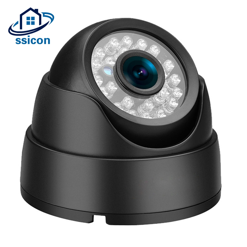 SSICON Indoor Vandal Proof AHD Security Camera Black Metal CCTV Camera for 1080P DVR cctv security explosion proof stainless steel general bracket