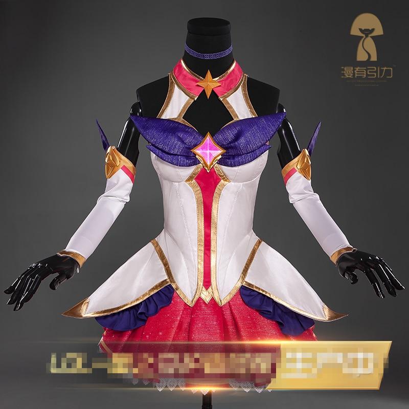 Νέο παιχνίδι LOL Ahri cosplay Αστέρι Guardian Magic - Καρναβάλι κοστούμια - Φωτογραφία 2