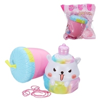 Eric Poke Nut Sheep For Squishy Toy 13CM Slow Rising With Packaging Collection Gift Soft Relieve