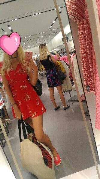 BONGOR LUSS Women Summer Dress 2018 V-Neck Cape Short Sleeve Casual Mini Dress Boho Beach Vinatge Floral Print Dress Sundress