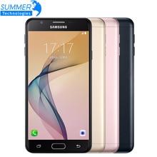 """Оригинальный Samsung Galaxy On7 (2016) G6100 3 г Оперативная память 32 г Встроенная память Octa Core 5.5 """"13mp 3300 мАч 1920×1080 dual sim 4 г LTE сотовые телефоны"""