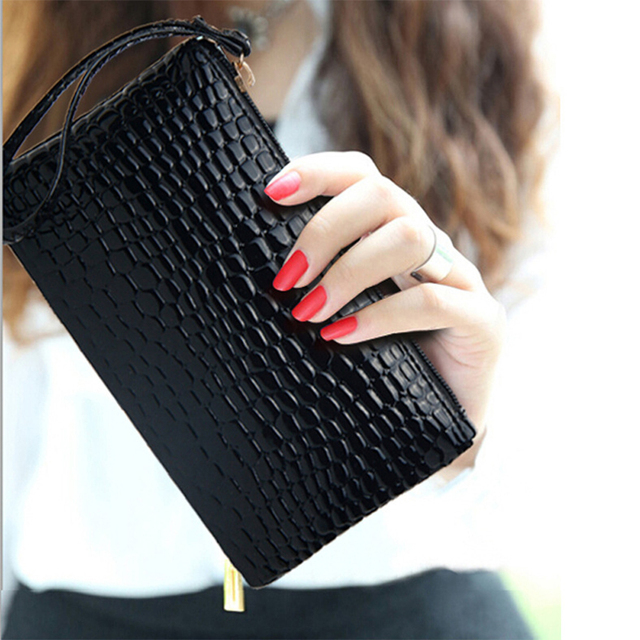 Fashion stone pattern Women Wallet Soft PU Leather Women's Clutch Wallet Female Designer Ladies Wallets Coin Card Purse