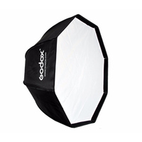 Godox 80cm/31.5in Octagon Umbrella Softbox with Bowens Mount Speedring for Speedlite Photo Strobe Studio