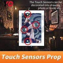 Sensore di tocco Prop Fuga Stanza Touch in Corretta Sequenza per Sbloccare Takagism Gioco di Vita Reale Adventure Game Camera Camera di YOPOOD