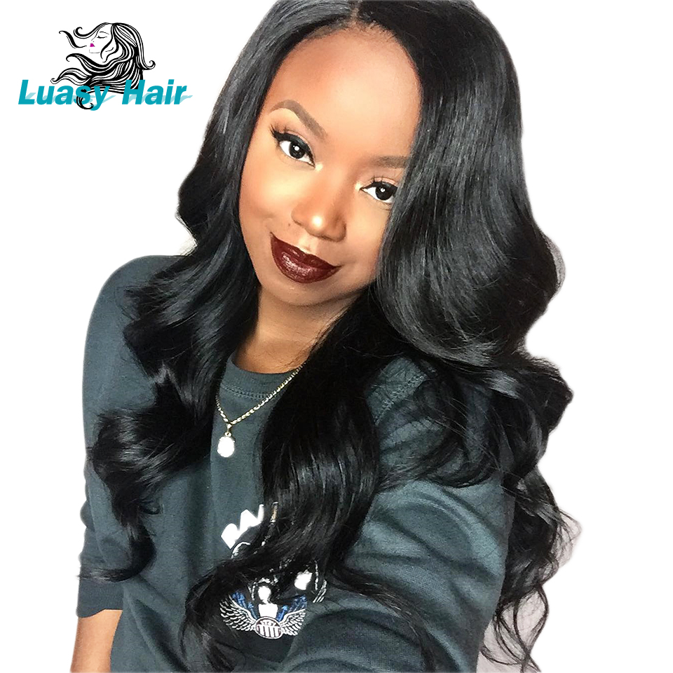 Brazilian 360 Lace Frontal Wigs With Baby Hair Brazilian Remy Hair Lace Front Human Hair Wigs