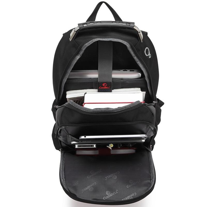 Sac à dos suisse pour homme sac de voyage pour ordinateur portable mochila étanche multifonction - 5