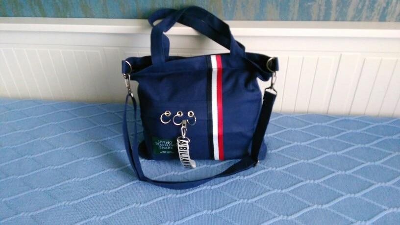 USDROPSHIP Travel The New canvas folding organizer bag Portable women shoulder Crossbody bags large-capacity canvas shopping bag photo review