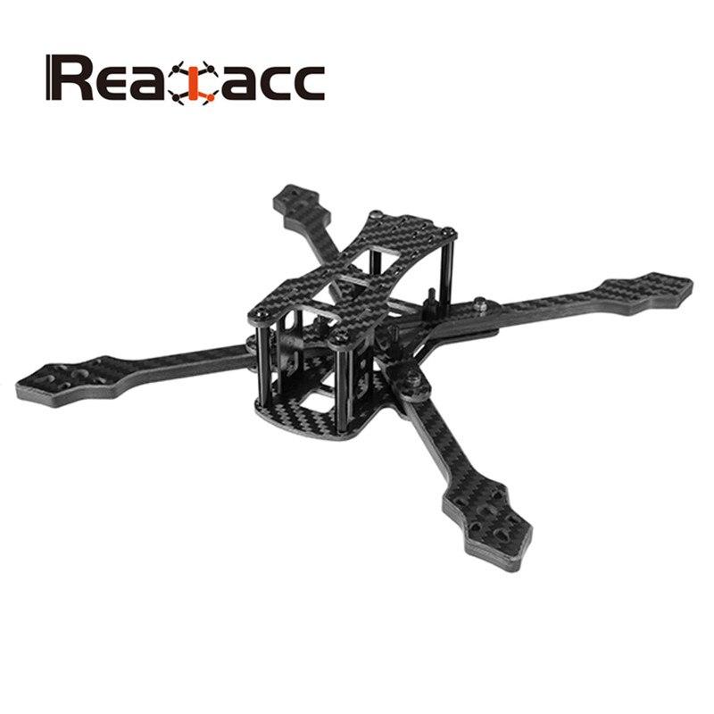Original Realacc Furious 220mm Carbon Fiber 6mm Arm FPV Racing Frame Kit 97g 2017 newest realacc furious 220mm carbon fiber 6mm arm fpv racing frame kit 97g for rc racer drone fpv quadcopter diy spare part