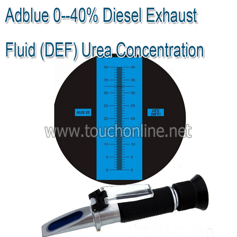 Diesel Exhaust Fluid >> Us 29 0 Adblue 0 40 Diesel Exhaust Fluid Def Urea Concentration Refractometer Rha 40atc In Refractometers From Tools On Aliexpress