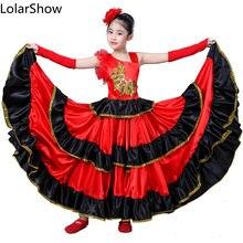 147c14f49efddb Kids Flamenco Rokken Spaanse Flamenco Dans Voor Meisje Spaans Senrite  Flamenco Dancer Kostuum(China)