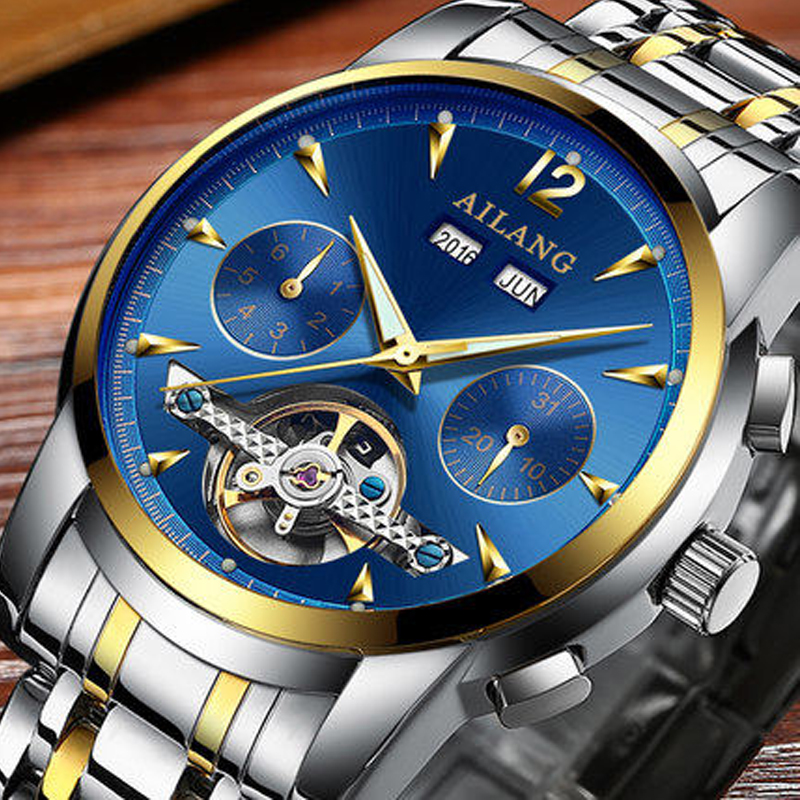 2018 AILANG top luxury brand mens wrist watch, diver watch, Swiss automatic motor gear sport waterproof watch, automatic clock2018 AILANG top luxury brand mens wrist watch, diver watch, Swiss automatic motor gear sport waterproof watch, automatic clock