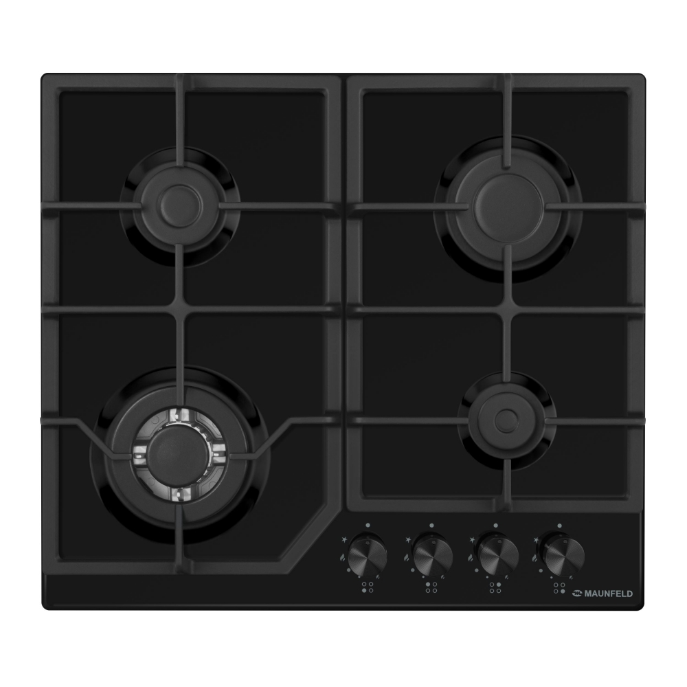 Cooking panel MAUNFELD EGHE.64.43CB/G Black cooking panel maunfeld eghe 64 43cw g white