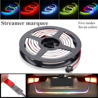 Mising Colorful 122CM LED Strip Light 12V DC COB Car Running Brake Reverse Signal LED Tail