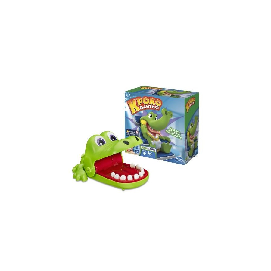 Board Game Hasbro Games Crocodile Dentist, 4+ B0408121 vfd004m21a second hand vfds m 220 v 0 4 kw inverter drive board power board main board