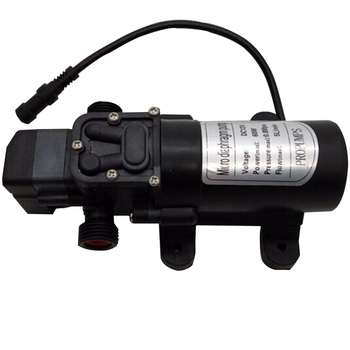 E002 12V Misting Pump 160PSI High Pressure Booster Diaphragm Water Pump Sprayer 1