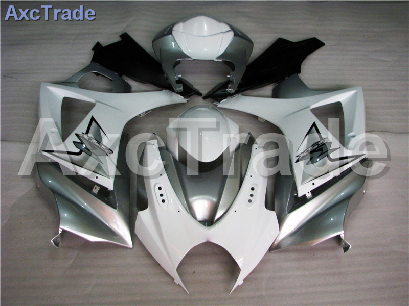 Motorcycle Fairings For Suzuki GSXR GSX-R 1000 GSXR1000 GSX-R1000 2007 2008 07 08 K7 ABS Plastic Injection Fairing Kit White abs plastic fairing kit for suzuki gsxr1000 2007 2008 k7 gsxr 1000 07 08 red black moto fairings set cb34 7 gifts