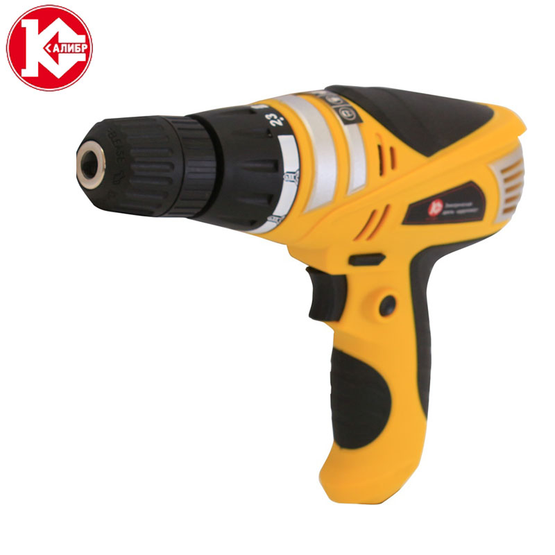 Kalibr DE-550HM Electric Drill  Electric wrench,Ratchet wrench Household Power Tools Drill with screwdriver function woodworking hole electric drill bit 6pcs